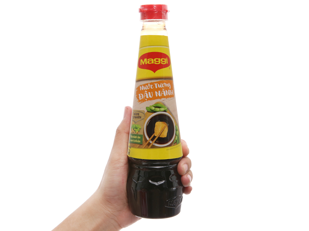 Nước tương đậu nành Maggi chai 300ml 3