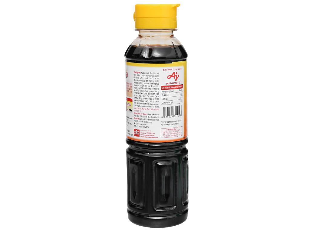 Nước tương Phú Sĩ chai 240ml 3