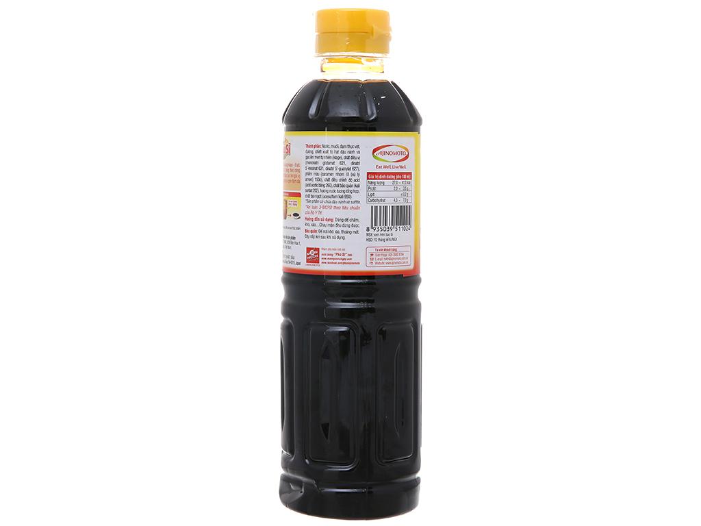 Nước tương Phú Sĩ chai 500ml 2