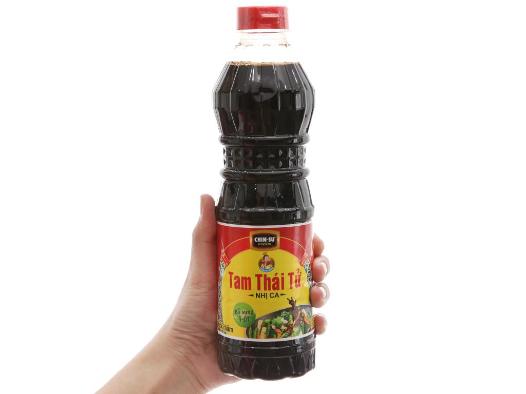 Nước tương Nhị ca Tam Thái Tử chai 500ml 4