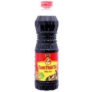 Nước tương Chinsu Tam Thái Tử Nhị Ca chai 500ml