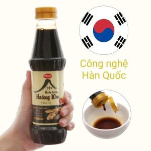 Nước tương hảo vị Hoàng Kim Miwon chai 300ml