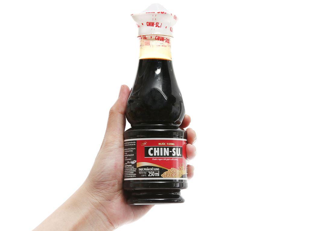 Nước tương Chinsu chai 250ml 1