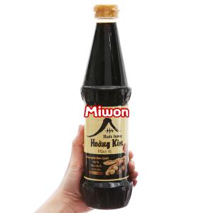 Nước tương hảo vị Hoàng Kim Miwon chai 650ml