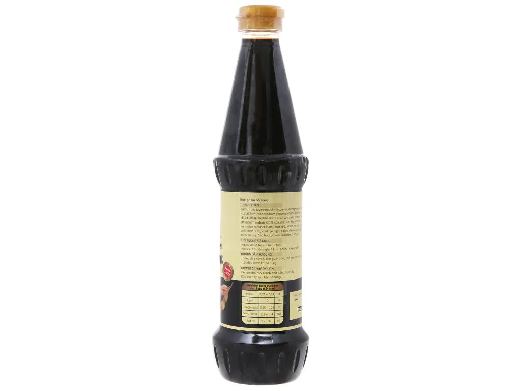 Nước tương hảo vị Hoàng Kim Miwon chai 650ml 2