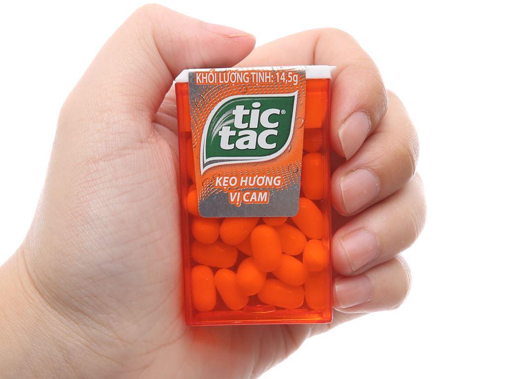 Kẹo ngậm hương vị cam Tic Tac hộp 14.5g 5