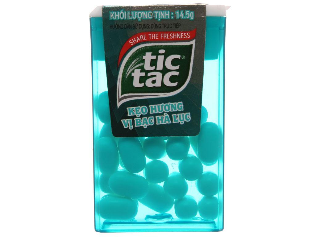 Kẹo hương vị bạc hà lục Tic Tac hộp 14.5g 2