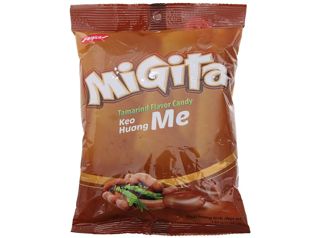 Kẹo me Migita gói 140g 1