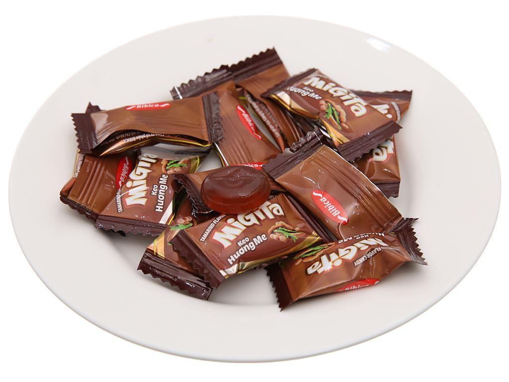Kẹo ngậm hương me Migita gói 140g 3