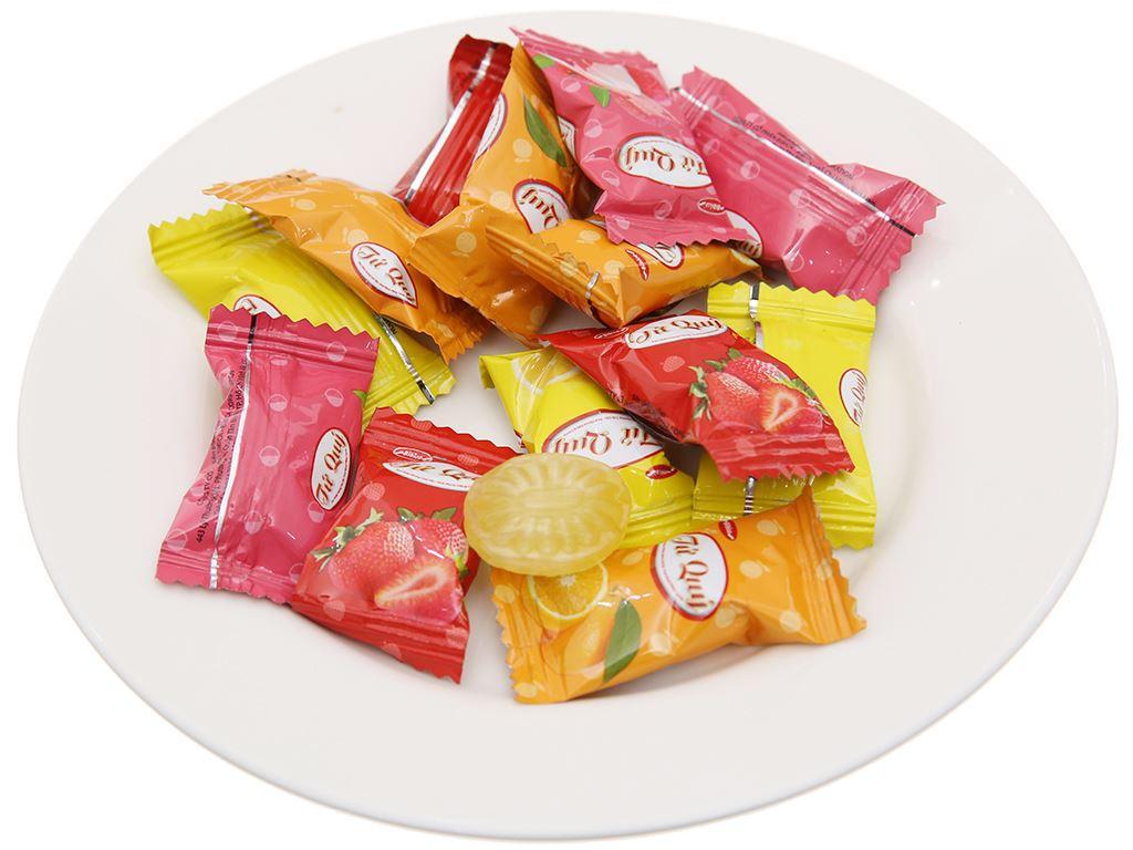 Kẹo ngậm nhân hương trái cây Tứ Quý gói 140g 4