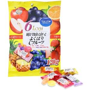 Kẹo trái cây c Eikodo gói 120g