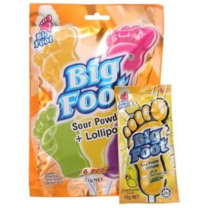 Kẹo que trái cây BigFoot gói 72g