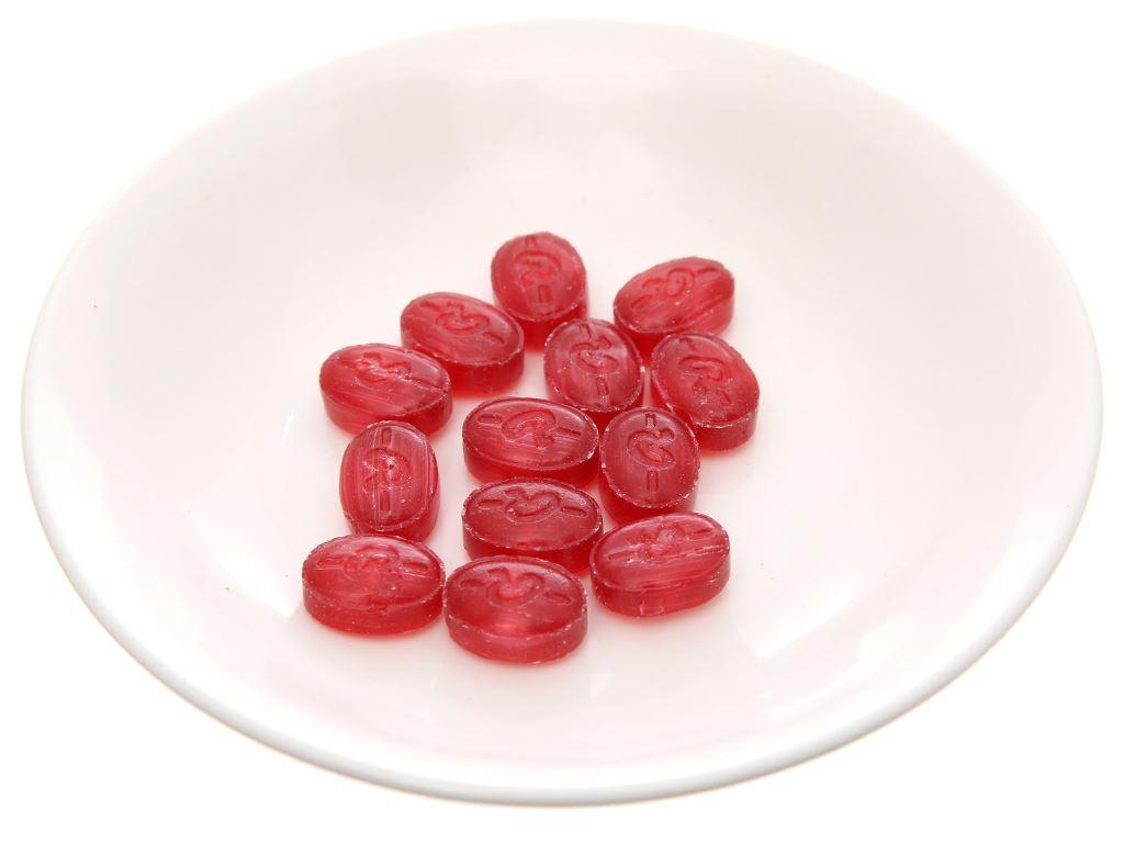 Kẹo ngậm thảo mộc không đường vị nam việt quất Ricola Cranberry hộp 40g 3