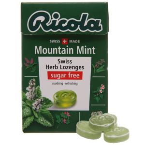 Kẹo thảo mộc Ricola không đường bạc hà 40g