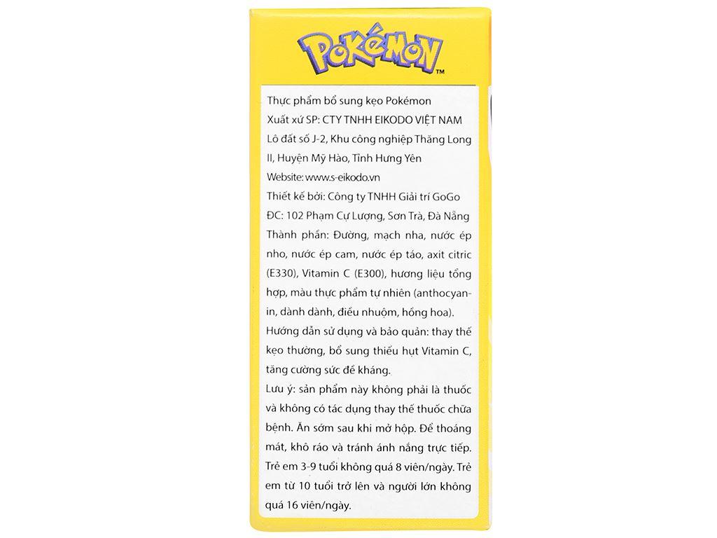 Thực phẩm bổ sung kẹo Pokémon Eikodo hộp 12g 5