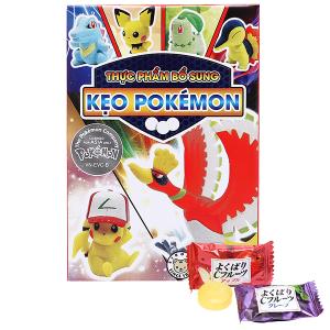 Thực phẩm bổ sung kẹo Pokémon giao đấu phiên bản 2 Eikodo hộp 12g