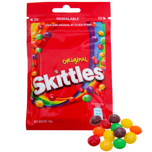 Kẹo trái cây Skittles Original gói 45g