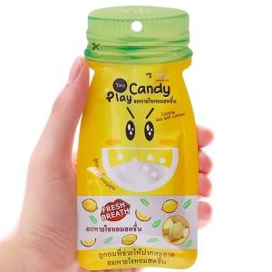 Kẹo ngậm thơm miệng hương chanh muối Play Candy gói 12g