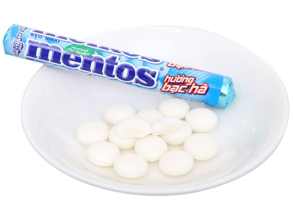 Kẹo nhai hương bạc hà Mentos gói 113.4g 7