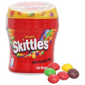 Kẹo trái cây Skittles Original hũ 100g