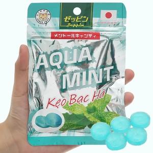 Kẹo vị bạc hà Aquamint Zeppin gói 36g