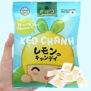 Kẹo vị chanh Zeppin gói 60g