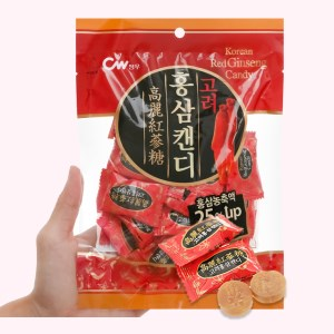 Kẹo vị hồng sâm CW gói 150g
