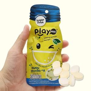Kẹo the vị chanh muối Play More gói 12g