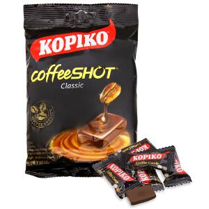 Kẹo ngậm cà phê KOPIKO CoffeeSHOT Classic gói 150g