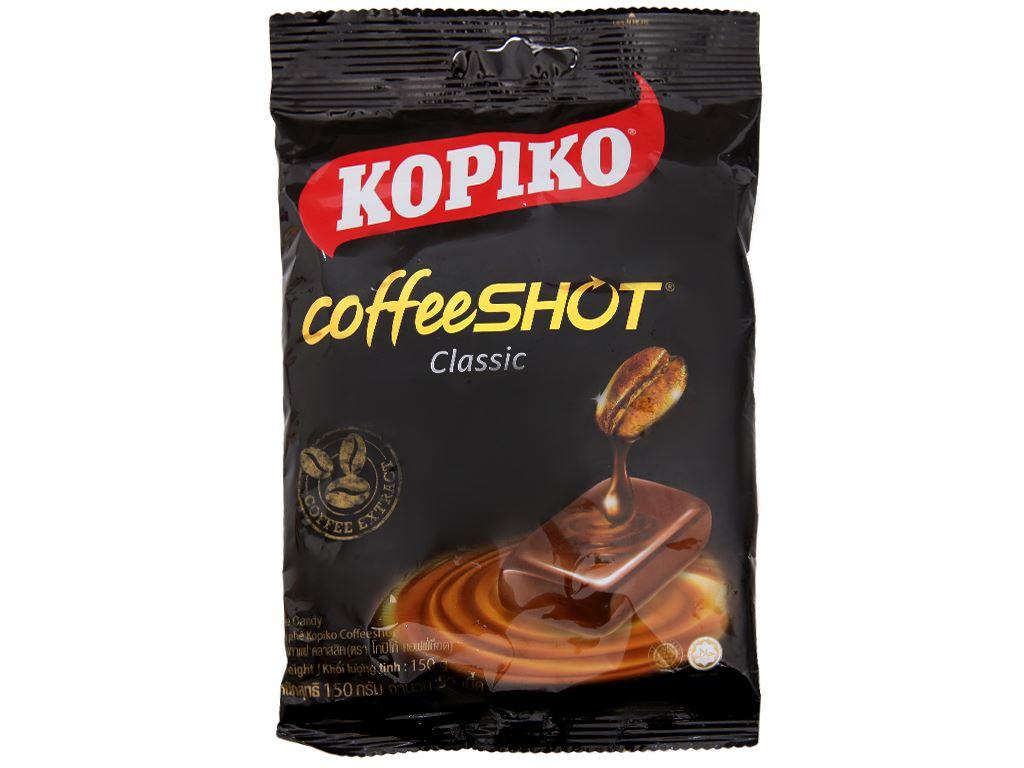Kẹo cà phê Coffeeshot Classic KOPIKO gói 150g 2