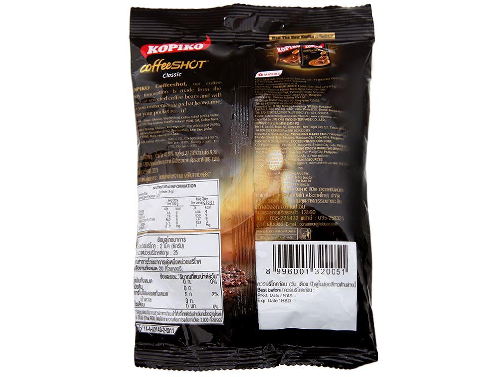 Kẹo ngậm cà phê KOPIKO CoffeeSHOT Classic gói 150g 3