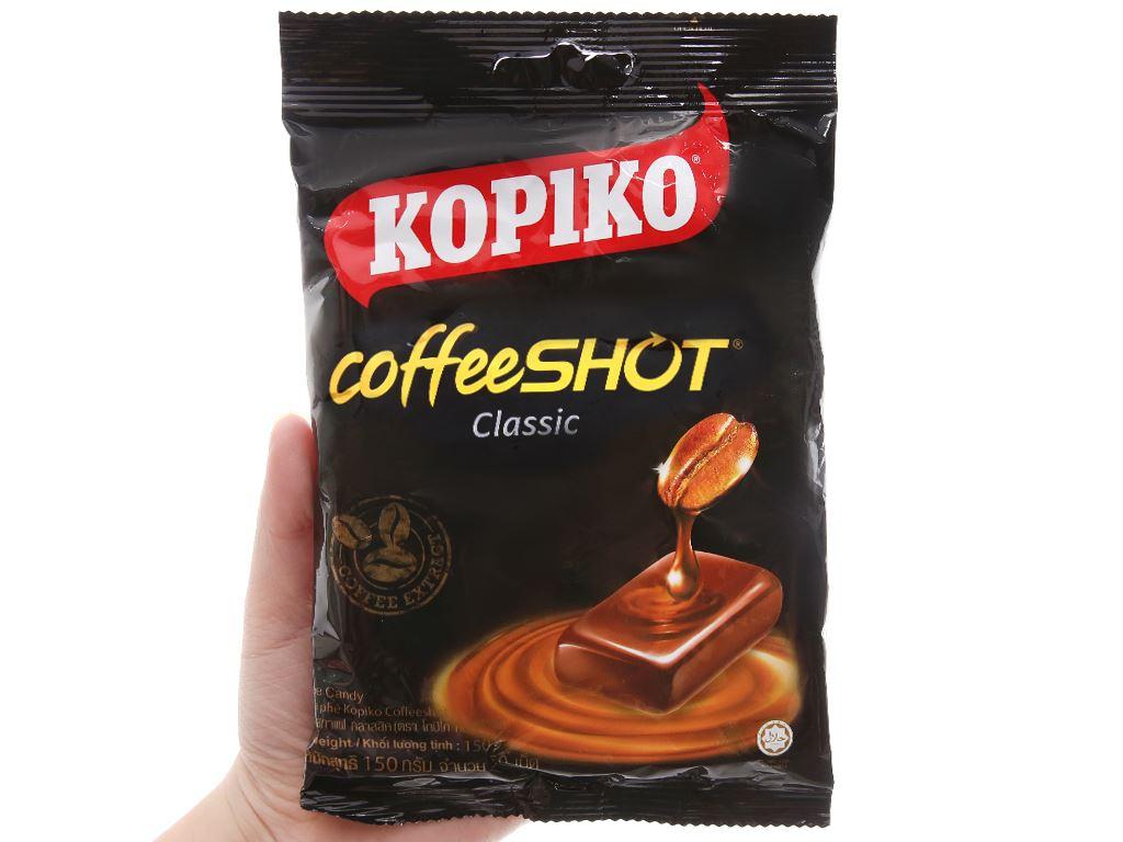 Kẹo ngậm cà phê KOPIKO CoffeeSHOT Classic gói 150g 5