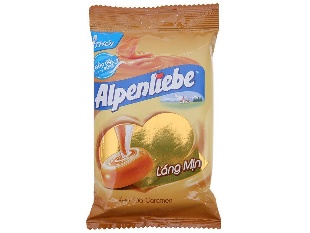 Kẹo ngậm sữa caramen Alpenliebe gói 96g (3 thỏi) 1