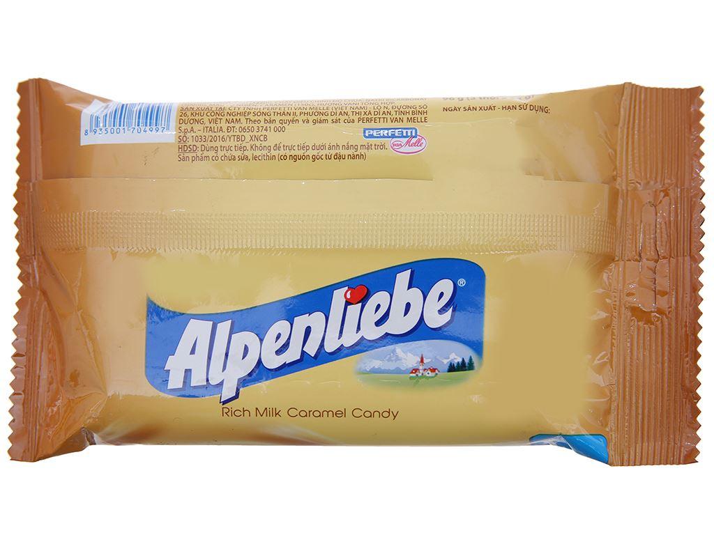Kẹo ngậm sữa caramen Alpenliebe gói 96g (3 thỏi) 2