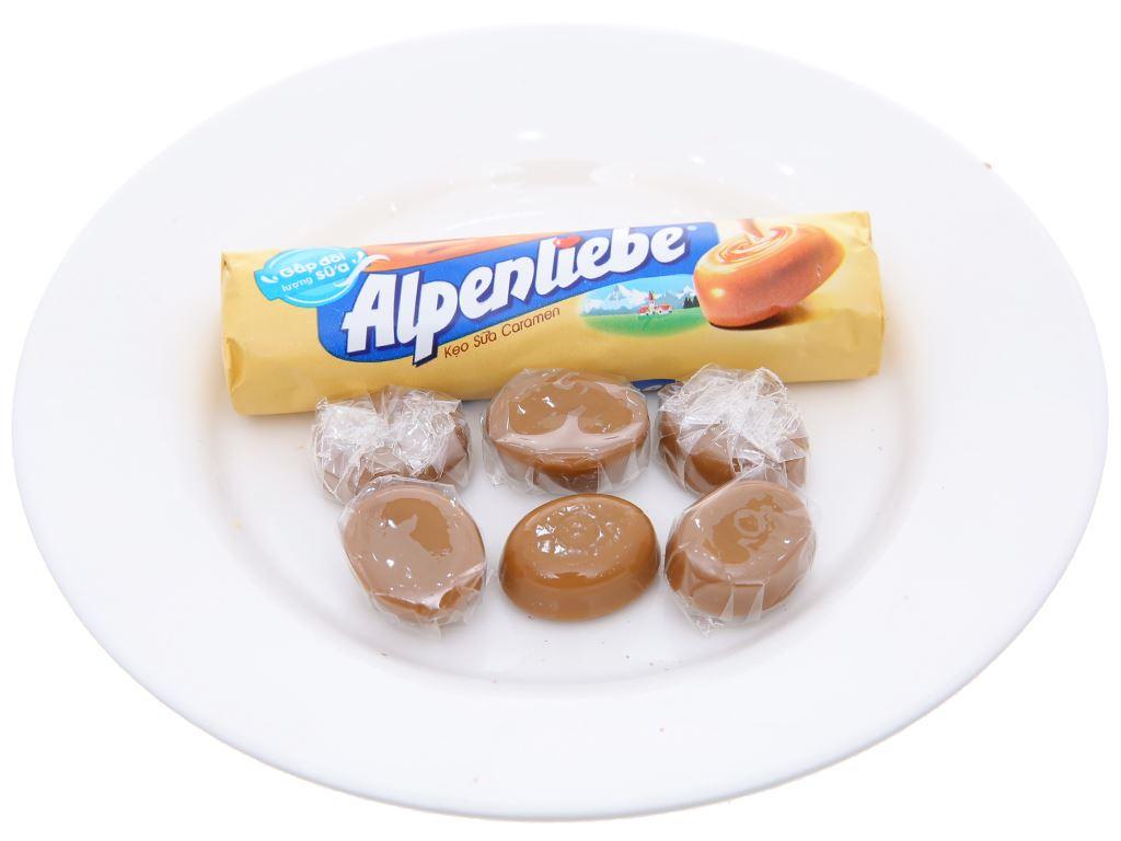 Kẹo ngậm sữa caramen Alpenliebe gói 96g (3 thỏi) 3