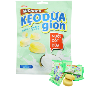 Kẹo dừa giòn nước cốt dừa Bibica Michoco gói 100g