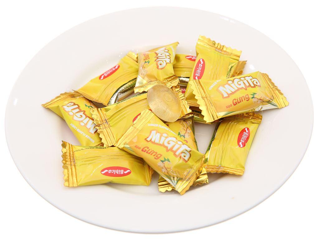 Kẹo ngậm vị gừng Migita gói 70g 4