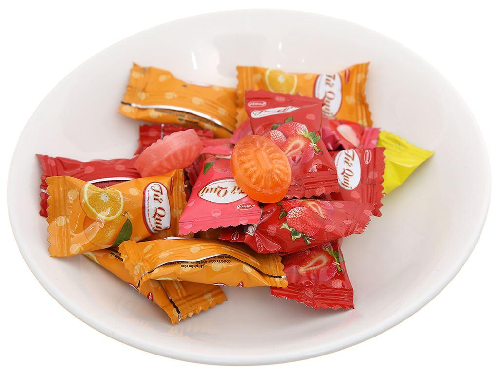 Kẹo nhân hương trái cây Tứ Quý gói 70g 2
