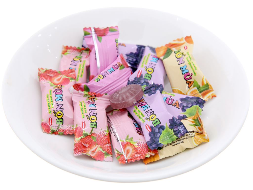 Kẹo trái cây Bốn Mùa gói 70g 3