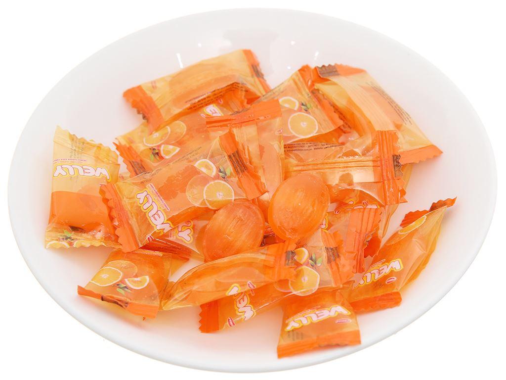 Kẹo cứng hương cam Bibica Welly gói 90g 3