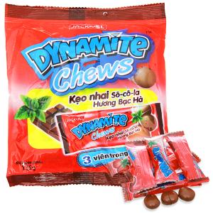 Kẹo nhai socola hương bạc hà Dynamite Chew gói 125g