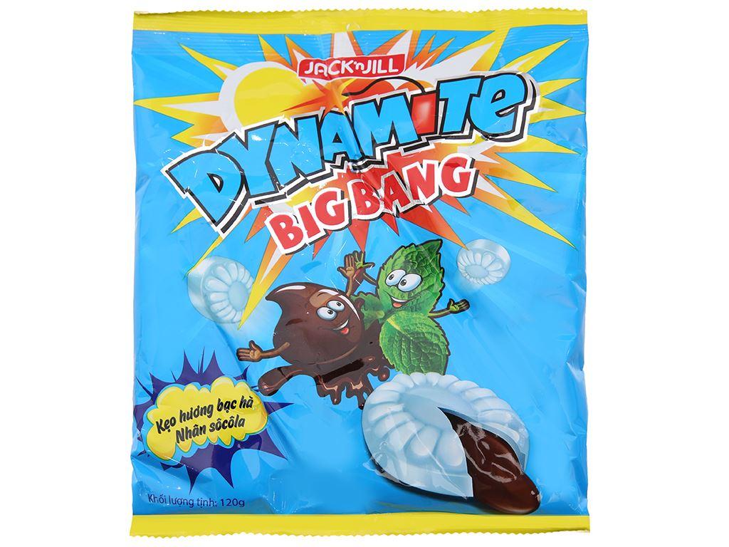 Kẹo Dynamite Big Bang hương bạc hà nhân socola 120g 2