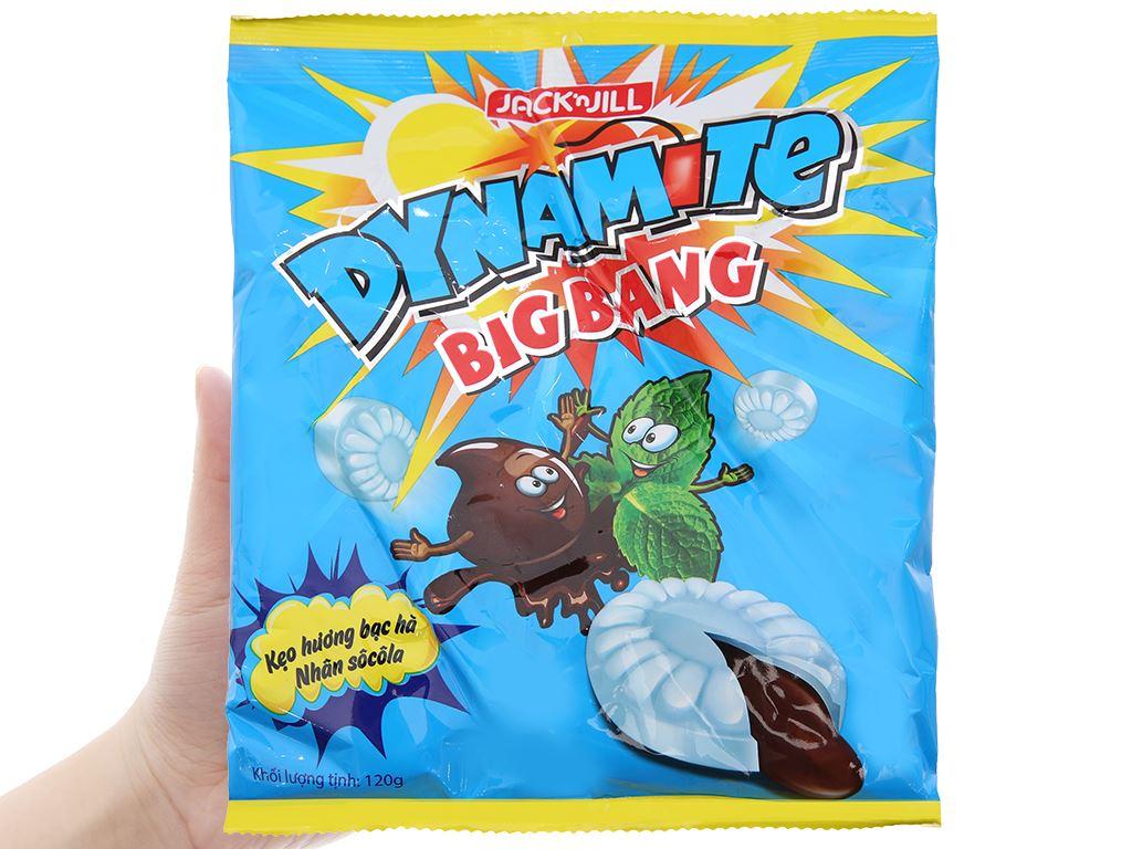 Kẹo Dynamite Big Bang hương bạc hà nhân socola 120g 4