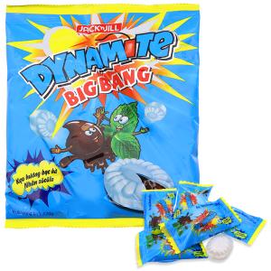 Kẹo hương bạc hà nhân socola Dynamite Big Bang gói 120g