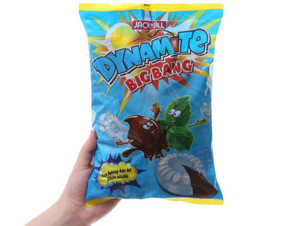 Kẹo hương bạc hà nhân socola Dynamite Big Bang gói 330g 5