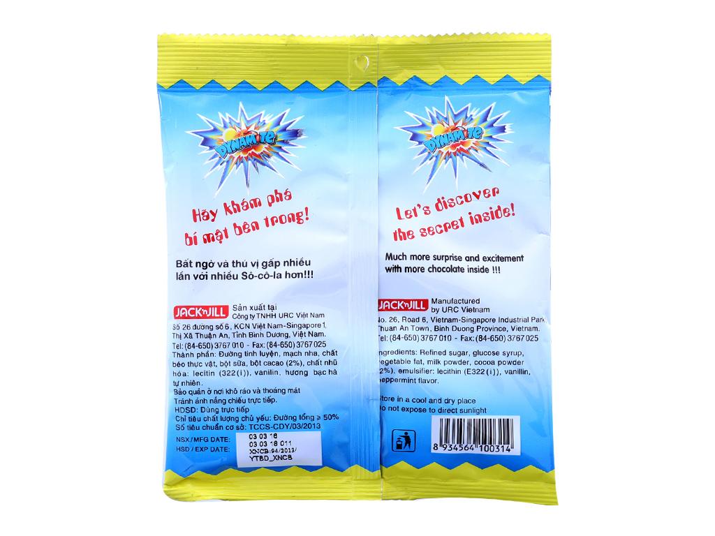 Kẹo ngậm hương bạc hà nhân socola Dynamite Big Bang gói 60g 3