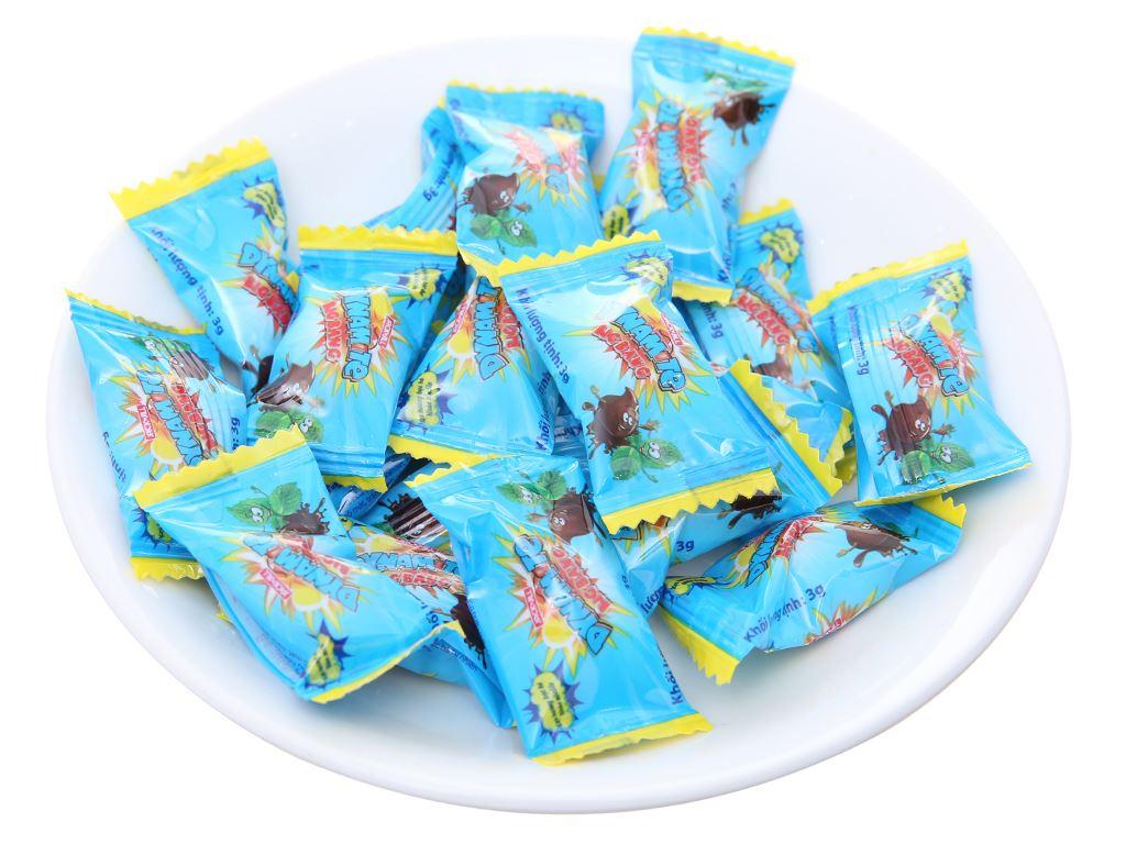 Kẹo ngậm hương bạc hà nhân socola Dynamite Big Bang gói 60g 4