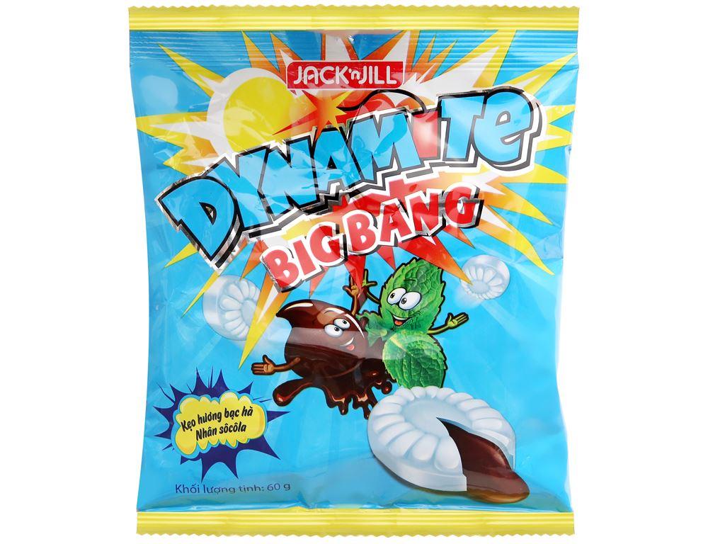 Kẹo hương bạc hà nhân socola Dynamite Big Bang gói 60g 5