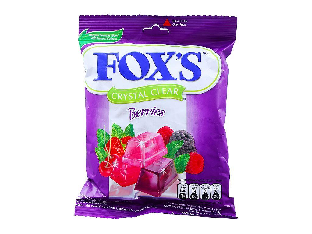 Kẹo Fox's hương trái cây ôn đới 90g 2