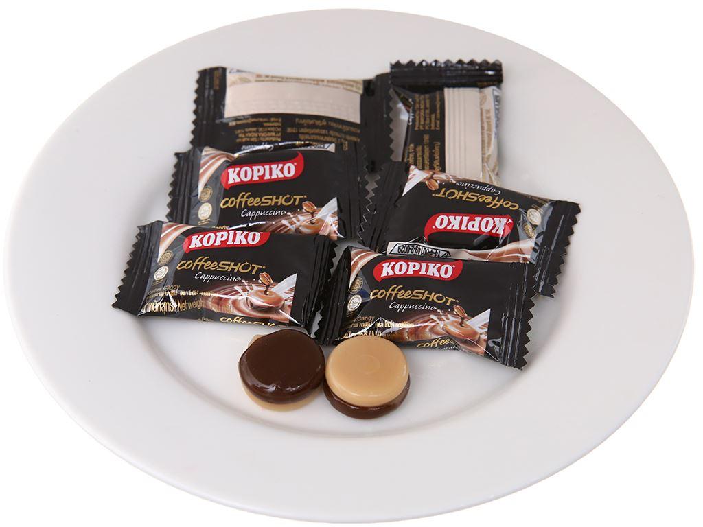 Kẹo ngậm cà phê Cappuccino KOPIKO CoffeeSHOT gói 150g 4